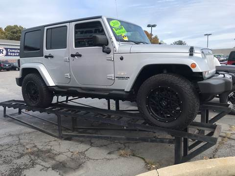 2010 Jeep Wrangler Unlimited for sale in Michigan City, IN