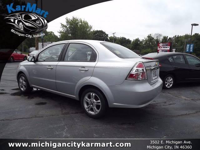2010 Chevrolet Aveo Lt 4dr Sedan W2lt In Michigan City In Karmart