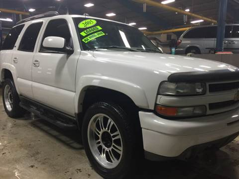 2005 Chevrolet Tahoe for sale in Michigan City, IN