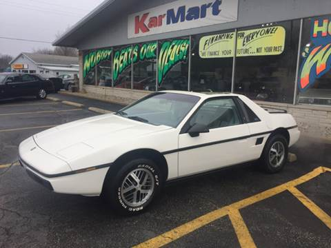 1984 Pontiac Fiero for sale in Michigan City, IN