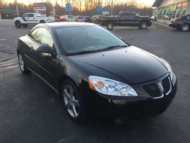 2006 Pontiac G6 Gtp >> 2006 Pontiac G6 Gtp 2dr Convertible In Michigan City In