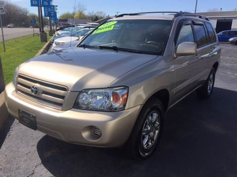 2007 Toyota Highlander for sale in Michigan City, IN