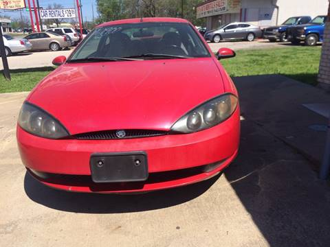 1999 Mercury Cougar for sale at OLVERA AUTO SALES in Terrell TX