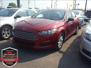 2016 Ford Fusion for sale in Ada, OK