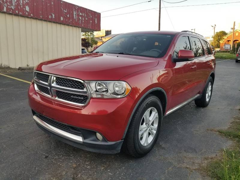 Image result for 2011 dodge durango crew awd red