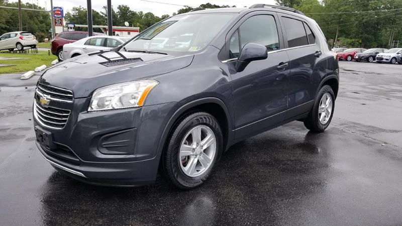 2016 Chevrolet Trax LT 4dr Crossover w/1LT - West Point VA