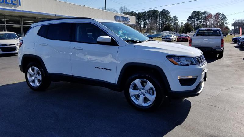 2017 Jeep Compass 4x4 Latitude 4dr SUV (midyear release) - West Point VA
