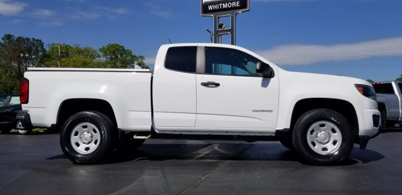 2016 Chevrolet Colorado 4x2 Work Truck 4dr Extended Cab 6 ft. LB - West Point VA