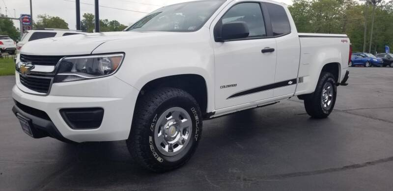 2016 Chevrolet Colorado 4x4 Work Truck 4dr Extended Cab 6 ft. LB - West Point VA