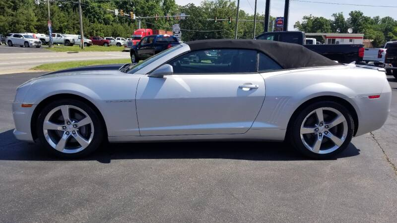 2011 Chevrolet Camaro SS 2dr Convertible w/2SS - West Point VA