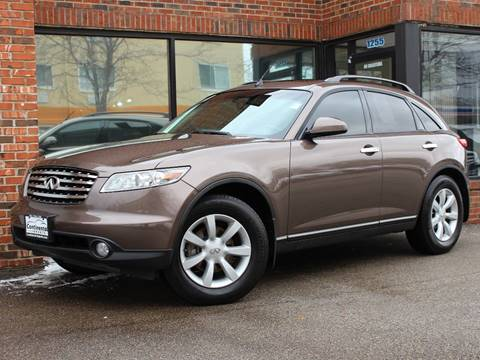 Used 2004 infiniti fx35 for sale carsforsale 2004 infiniti fx35 for sale in des plaines il sciox Images