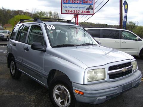 2000 Chevrolet Tracker for sale in Lower Burrell, PA