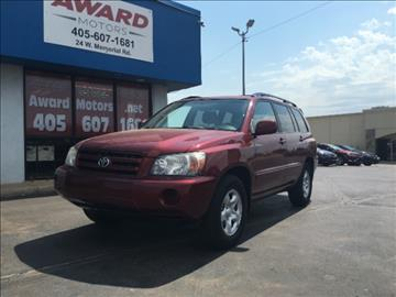 2005 Toyota Highlander for sale in Oklahoma City, OK