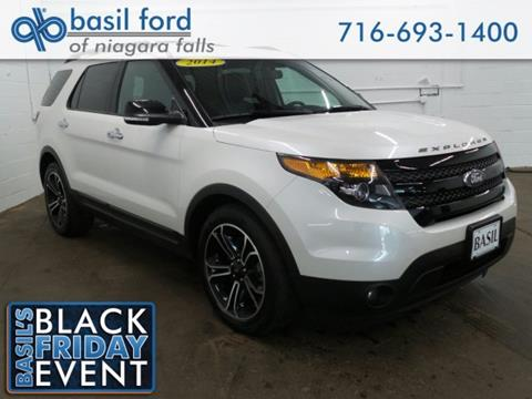 2014 Ford Explorer for sale in Niagara Falls, NY