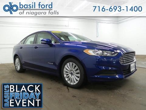 2015 Ford Fusion Hybrid for sale in Niagara Falls, NY