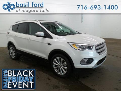 2018 Ford Escape for sale in Niagara Falls, NY