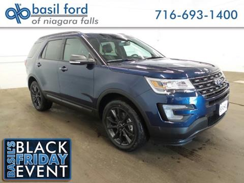 2017 Ford Explorer for sale in Niagara Falls, NY