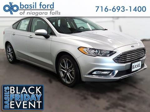 2017 Ford Fusion for sale in Niagara Falls, NY