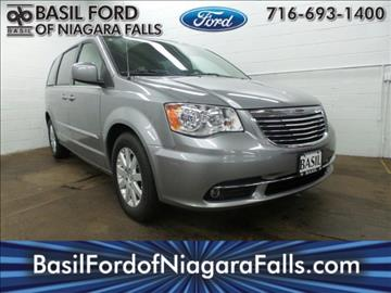 2014 Chrysler Town and Country for sale in Niagara Falls, NY