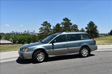2001 Subaru Outback for sale in Denver, CO