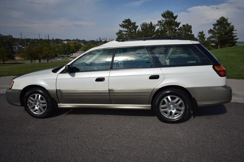 2003 Subaru Outback Awd 4dr Wagon In Denver Co Japanese Car Connection