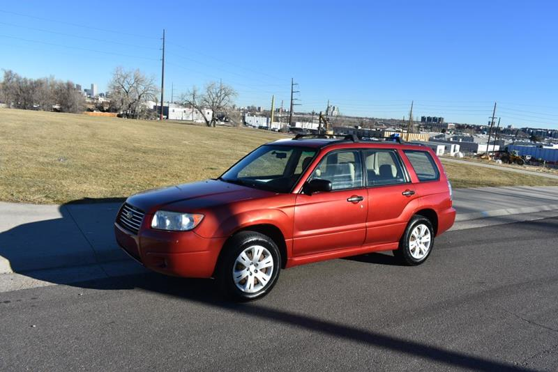 2008 Subaru Forester 2 5 X In Denver Co Japanese Car Connection