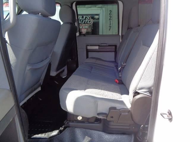 2012 Ford F-350 Super Duty 4x4 XLT 4dr Crew Cab 8 ft. LB SRW Pickup - Saint Cloud MN
