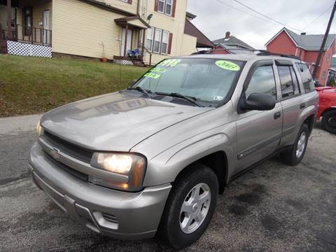 2003 Chevrolet TrailBlazer for sale in Belle Vernon, PA