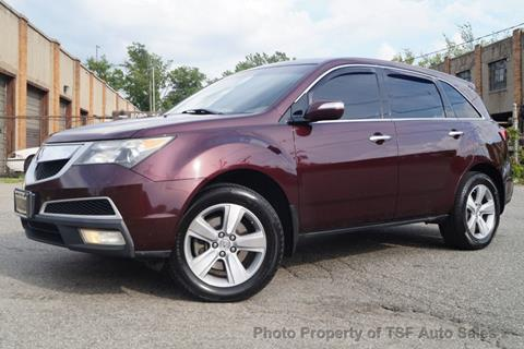 2010 Acura MDX for sale at TSF Auto Sales in Hasbrouck Heights NJ
