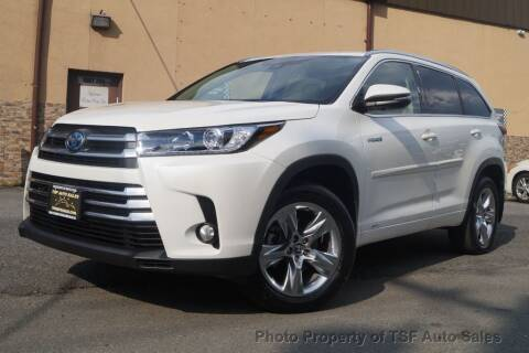 2017 Toyota Highlander Hybrid for sale at TSF Auto Sales in Hasbrouck Heights NJ