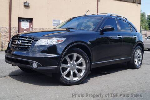 2005 Infiniti FX35 for sale at TSF Auto Sales in Hasbrouck Heights NJ
