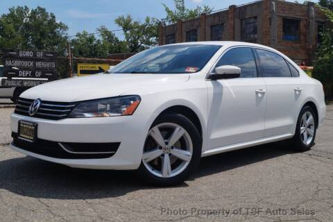 2013 Volkswagen Passat for sale at TSF Auto Sales in Hasbrouck Heights NJ