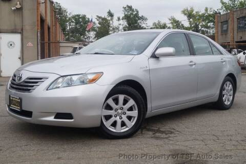 2008 Toyota Camry Hybrid for sale at TSF Auto Sales in Hasbrouck Heights NJ