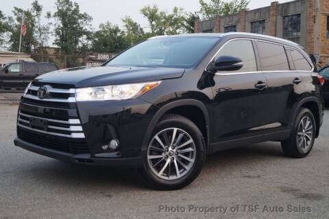 2019 Toyota Highlander for sale at TSF Auto Sales in Hasbrouck Heights NJ