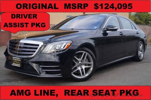 2019 Mercedes-Benz S-Class for sale at TSF Auto Sales in Hasbrouck Heights NJ