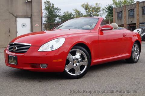 2002 Lexus SC 430 for sale at TSF Auto Sales in Hasbrouck Heights NJ