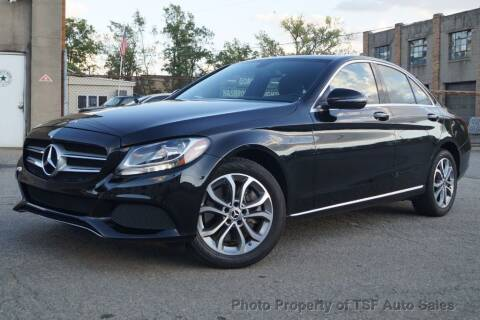 2018 Mercedes-Benz C-Class for sale at TSF Auto Sales in Hasbrouck Heights NJ