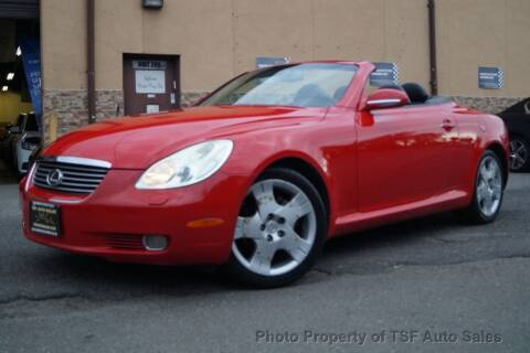 2004 Lexus SC 430 for sale at TSF Auto Sales in Hasbrouck Heights NJ