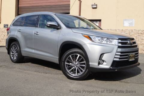 2017 Toyota Highlander for sale at TSF Auto Sales in Hasbrouck Heights NJ