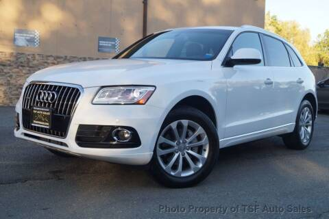 2016 Audi Q5 for sale at TSF Auto Sales in Hasbrouck Heights NJ