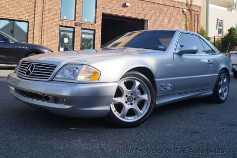 2002 Mercedes-Benz SL-Class for sale at TSF Auto Sales in Hasbrouck Heights NJ