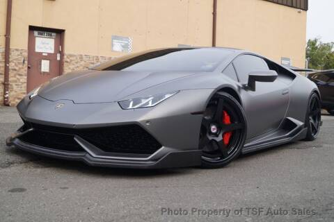 2016 Lamborghini Huracan for sale at TSF Auto Sales in Hasbrouck Heights NJ
