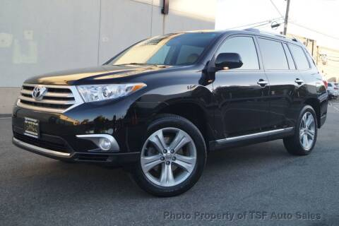 2013 Toyota Highlander for sale at TSF Auto Sales in Hasbrouck Heights NJ