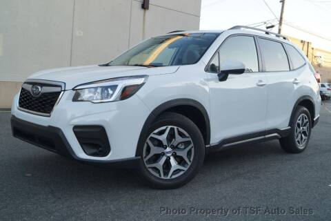 2020 Subaru Forester for sale at TSF Auto Sales in Hasbrouck Heights NJ