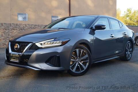 2020 Nissan Maxima for sale at TSF Auto Sales in Hasbrouck Heights NJ