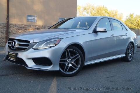 2014 Mercedes-Benz E-Class for sale at TSF Auto Sales in Hasbrouck Heights NJ