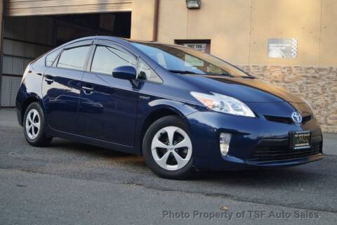 2013 Toyota Prius for sale at TSF Auto Sales in Hasbrouck Heights NJ