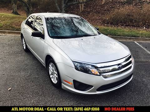 2010 Ford Fusion for sale in Marietta, GA