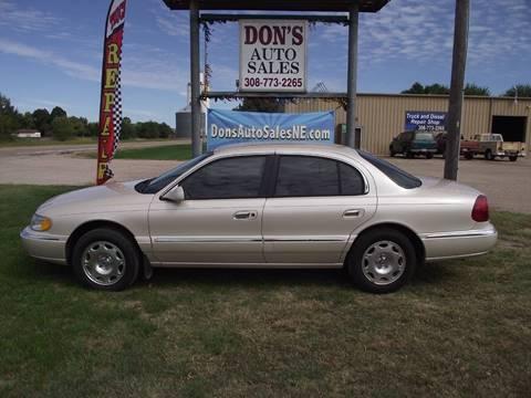 1999 Lincoln Continental for sale in Silver Creek, NE
