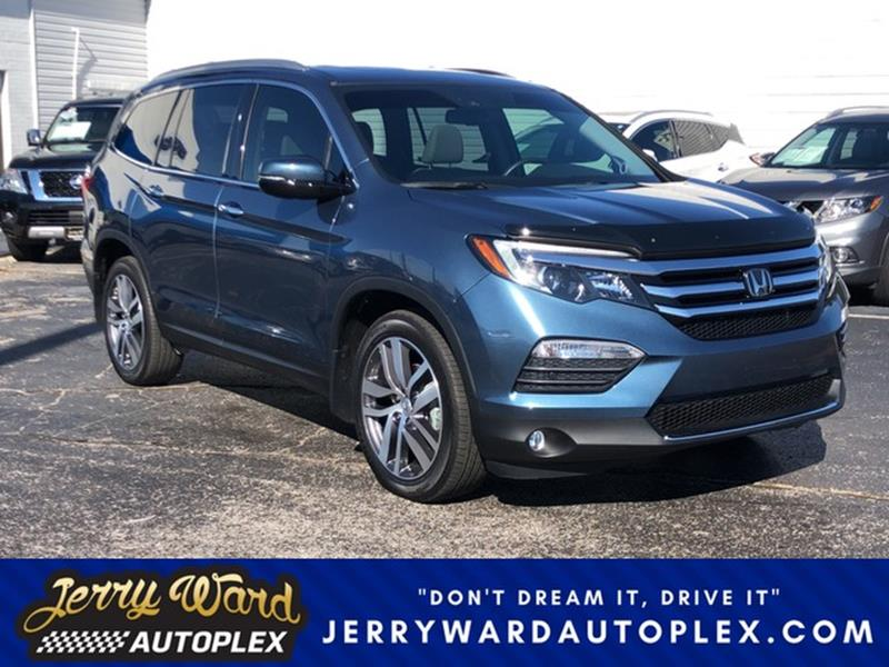 Utility Vehicle Repair Union City Tn >> 2016 Honda Pilot Awd Elite 4dr Suv In Union City Tn Jerry Ward